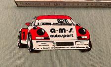 Aufkleber Porsche 911 a-m-s autosport Autocollant