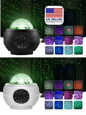 Starry Projector Night Light Galaxy with Bluetooth Speaker 15 Colors Mode