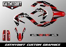 FOR APRILIA MX SX 125 2009-2013 CUSTOM GRAPHICS KIT DECALS MOTOCROSS STICKERS