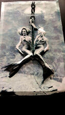 Mermaids at Flordia Water Park Poster Vintage in 3-D Leather feel  11x17