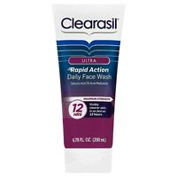 Clearasil Ultra Rapid Action Daily Face Wash - 6.78 oz