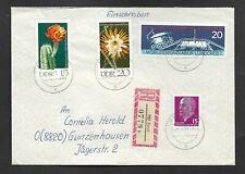 Umschlag-DDR-von Forst (Lausitz) nach Gunzenhausen (BRD-2.4.71- ES 0779-