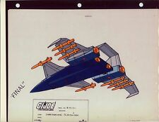 "G.I. GI Joe Cobra Hurricane (Bottom) Model Cel ""PHOTO"" 80-90's Cartoon 1990 Dic"