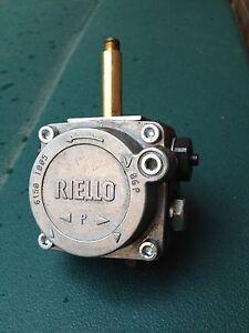 Riello burner oil pump repair instructions