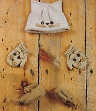 Knitting Pattern Baby's 5 Ply Cute Cat & Mouse Hat, Mittens & Boots  (91)