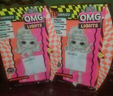 Lot of 2 NEW ~LOL Surprise OMG LIGHTS Speedster~Fashion Dolls.