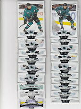 19/20 OPC San Jose Sharks Team Set w/RC and Inserts - Thornton Middleton RC +