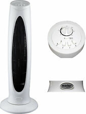 "29"" ELECTRIC TOWER FAN HOME OFFICE OSCILLATING AIR TIMER FREE STANDING 3 SPEED"