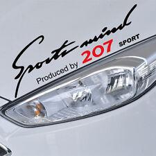 Decal sticker Sport mind Peugeot 207