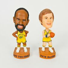 Rare '03 Golden State Warriors Rick Barry Nate Thurmond collectible Bobbleheads