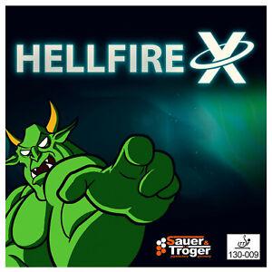 Sauer&Tröger Hellfire X Spezialbehandelt/glatt, OX,gr. Störung beim Plastikball