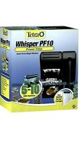 Tetra Whisper PF10 Power Filter, Quiet Three-Stage Filter For 5-10 Gal Aquariums