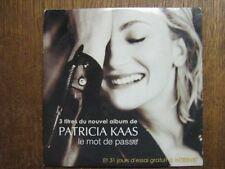 PATRICIA KAAS CD ROM BELGIQUE PROMOLE MOT DE PASSE