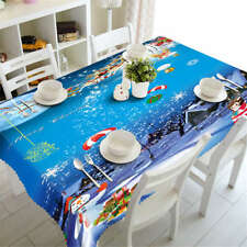 Each Other Gifts 3D Tablecloth Table cover Cloth Rectangle Wedding Party Banquet