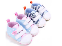 Newborn Baby Boy Girl Soft Sneakers Infant Crib Shoes Toddler Trainers Size 0-18
