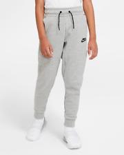 Nike Sportswear Tech Fleece Jogger Pants Size S Grey Black CU9213 063 Boys NEW