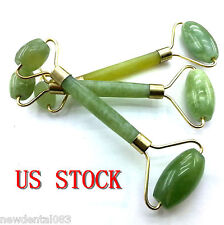 3pcsFace Body SPA Massage Roller Massager Jade Stone Anti-aging Cold Therapy New