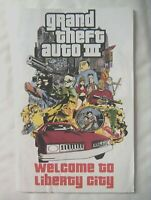 61107 Instruction Booklet - Grand Theft Auto III - Sony PS2 Playstation 2 (2001)