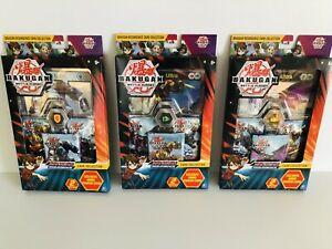 Bakugan Resurgence Card Collection 3 Boosters & Giant Ultra Card x3 (Spinmaster)