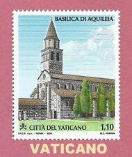 Vaticano 2020  BASILICA DI AQUILEIA  Francobollo singolo MNH