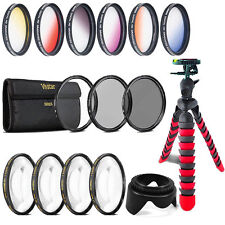 58mm Top Professional Lens Kit for Canon EOS Rebel T6i T6 T5i T5 T4i