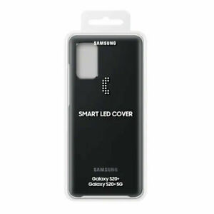 Genuine Samsung Smart LED Back Cover for Galaxy S20+ 5G - Black