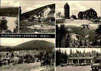 AUERSBERG Erzgebirge DDR Mehrbild-AK ua. HO-Berghotel, Wildenthal uvm. 1969