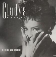 Gladys Knight: Where Would I Be PROMO w/ Artwork MUSIC AUDIO CD Vocal Suite 3trk