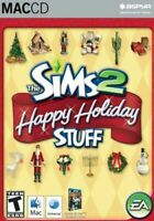 The Sims 2 Happy Holiday Stuff Expansion Pack Mac New in Box