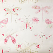 OHLALA Kinderzimmer Tapete OLA 6618 4008 Libellen rosa (4.94 Euro pro m²)