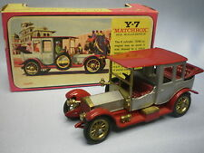 MATCHBOX MODELS OF YESTERYEAR Y-7 1912 ROLLS-ROYCE