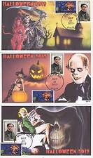 JVC CACHETS -SET OF 3-2013 HALLOWEEN EVENT COVERS 'BEAUTY & BEAST' THEME HORROR