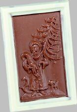 Schokoladenform -Gießform - Relief Weihnachtstafel 75g