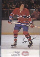 1988-89 ESSO HOCKEY SERGE SAVARD CANADIENS MINT *56241