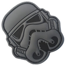STAR WARS IMPERIAL STORMTROOPER IMPERIAL ARMY 3D PVC BADGE RUBBER HOOK PATCH #03