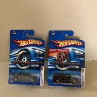 Hot Wheels Lot 2x AMG Mercedes CLK DTM #016 /07 Cadillac Escalade #034 U32