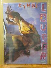 Vintage 1984 Cyndi Lauper original pop star poster music artist 7048