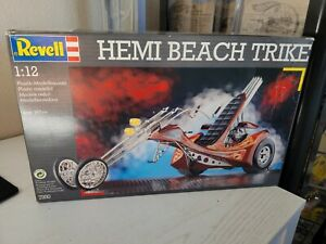 "Rare! Revell ""Hemi Beach Trike"" Model Kit 1/12 Unbuilt 1992."
