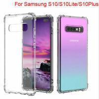 For Samsung Galaxy S10 S10 plus S10e S9 Clear Case Cover waterproof TPU Bumper