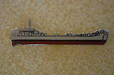 US USA USN Navy USS LST Landing Ship Tank Military Hat Lapel Pin