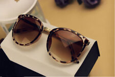 Leopard Vintage UV400 Protection Outdoor Shades Women Mens Sunglasses Eyewear 01