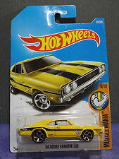 Hot Wheels New 2017 Moon Eyes '69 DODGE CHARGER 500, HW MUSCLE MANIA series 4/10