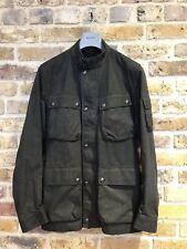 Belstaff Trialmaster Jacket Black Lightweight Cotton R.R.P. £650