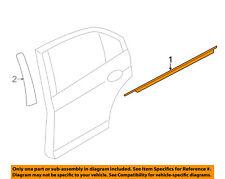 Lincoln FORD OEM Rear Window/Door-Belt Molding Weatherstrip Left 7H6Z5425597A