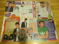 Zayn Malik, One Direction, Lot of SIX Full Page Clippings