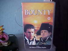 The Bounty VHS Video, Pal 1984 Cert 15 - Starring Mel Gibson & Anthony Hopkins