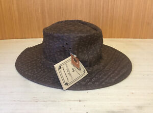 ORIGINAL ROGUE HANDCRAFTED GENUINE AFRICAN LEATHER HAT SIZE S
