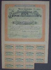Sociedad Beneficencia del Callao Caja de Ahorros 10 Libras de Oro, 1926