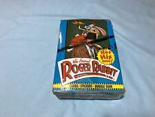 Who Framed Roger Rabbit Trading Cards Wax Box