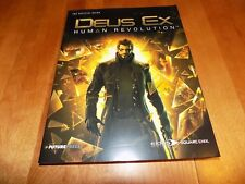 THE OFFICIAL GUIDE DEUS EX HUMAN REVOLUTION Game Strategy Guide Book